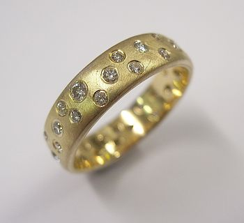 Scatter Diamond Ring