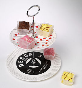 Everything Stops For Tea Cake Stand - table decorations