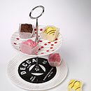 Everything Stops For Tea Cake Stand