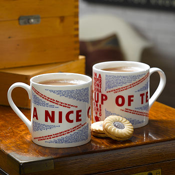 Quintessentially British Tea Mug