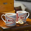 Quintessentially British Tea Mug