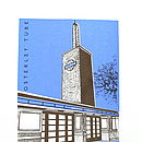 Osterley Tube Station Silk Screen Print