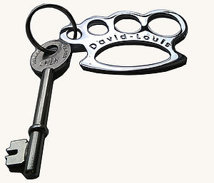 Knuckleduster Bottle Opener Keyring - kitchen accessories