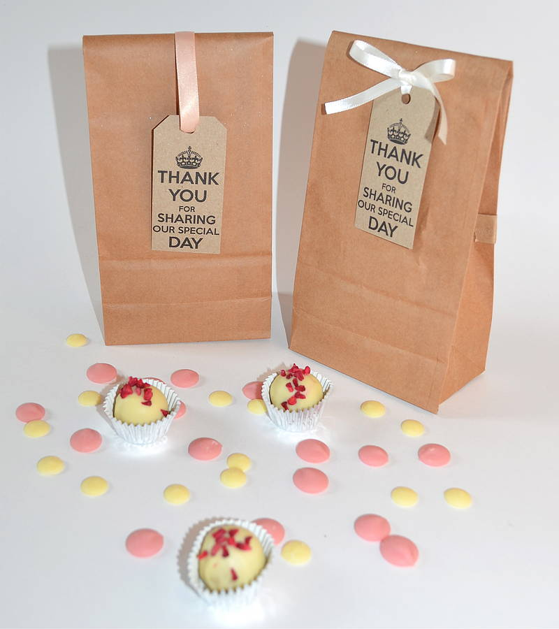 Vintage Handmade Chocolate Wedding Favours By Cocoa Cabana