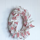 Handmade Fabric Wreath