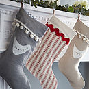 Scandi Stripe Stocking
