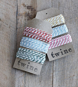 Baker's Twine - wedding stationery