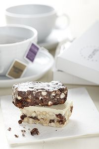 Tea For Two Rocky Road And Tiffin Gift Box - cakes & sweet treats