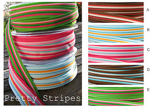 Striped Ribbon - ribbon & wrap