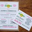 Festival Wedding Stationery Range