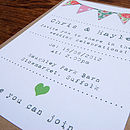 Summer Fayre Digitally Printed Stationery