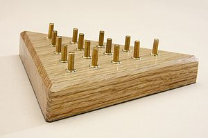 Wooden Solitaire And One To Win Game - traditional toys & games