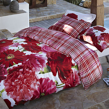 Rosemary Floral Duvet Set