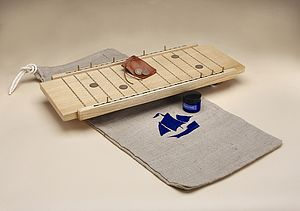 Wooden Shipboard Game