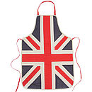 Personalised Union Jack Aprons