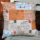 Postcard Cushion