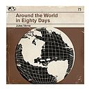 'Around The World' Framed Redesign Book Print