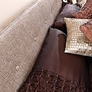 Fabric Upholstered Bed - Chelsea