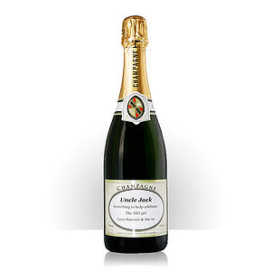 Personalised Bottle Of Champagne - food & drink gifts