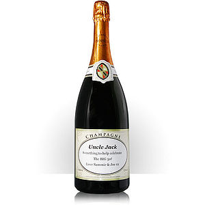 Personalised Champagne Magnum - gifts to drink