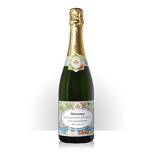 Personalised Champagne Floral Edition - wines, beers & spirits