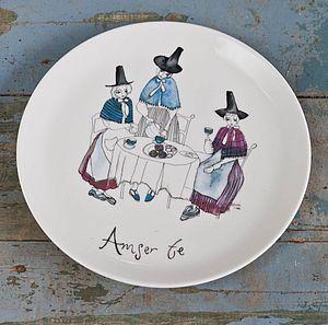 'Amser Te' Tea Time Plate