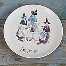 'Amser Te' Tea Time Plate