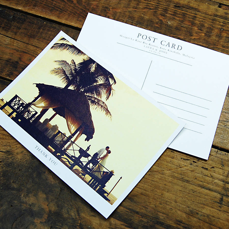 postcard front and back
