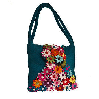 Felt Adult's Bliss Bag Teal