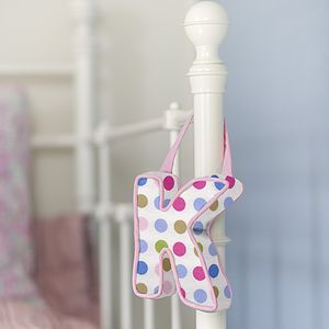 Personalised Hanging Love Letters - children's decorative accessories