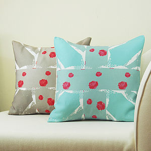 English Roses Vintage Cushion