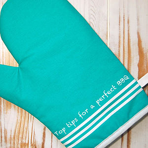 BBQ Top Tips Oven Mitt - kitchen accessories