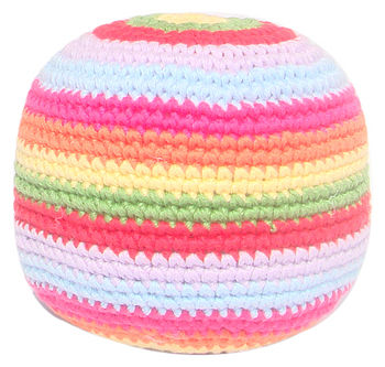Fairtrade Crochet Ball Rattle