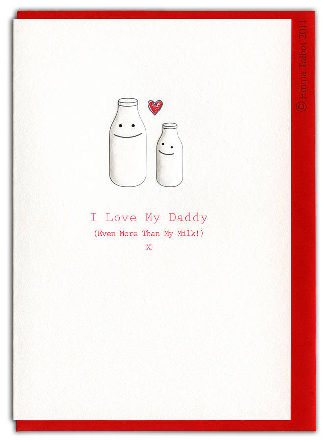 New Daddy And Mummy I Love You Card