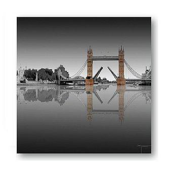 London Tower Bridge Print On Glass