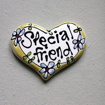 Personalised Heart Magnet