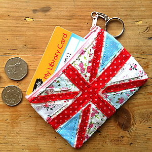Vintage Style Union Jack Coin Purse - bags, purses & wallets