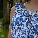 Summer Print Maternity Dress
