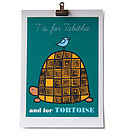 T is for Tortoise