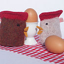 Knitted Chick Egg Cosy