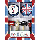 'It's British' Cupcake Kit