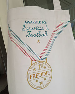 Personalised Gold Medal Apron - aprons