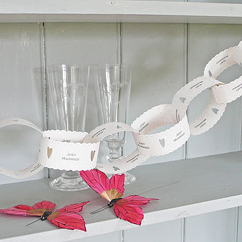 Wedding Paper Chain