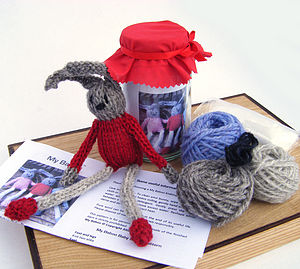 Baby Bunny Knitting Kit