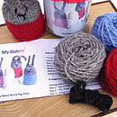 bunny egg cosy kit contents