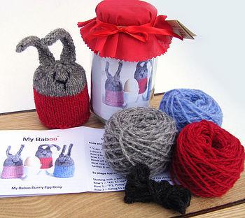 Bunny Egg Cosy Knitting Kit