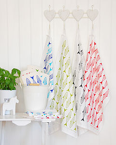 Fish Tea Towel - aprons & tea towels