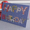 Pack Of Five 'Happy Birthday' Cards