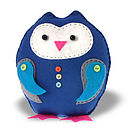 Barnaby Toots Owl Felt Sewing Kit