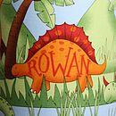 Child's Personalised Dinosaur Lampshade